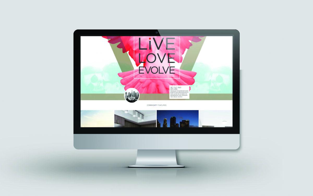 Olive splash page